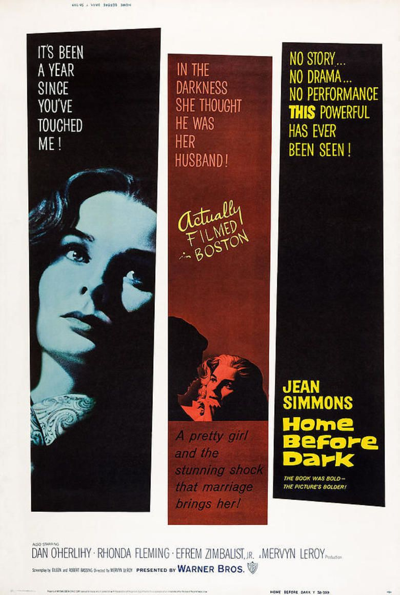 Home Before Dark (film) movie poster