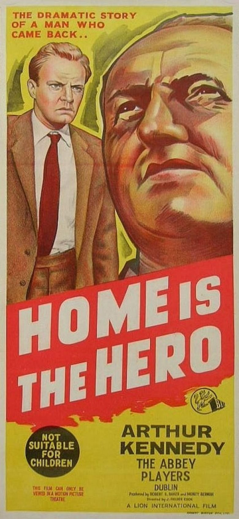 Home Is the Hero movie poster