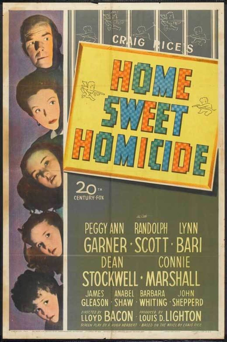 Home Sweet Homicide movie poster
