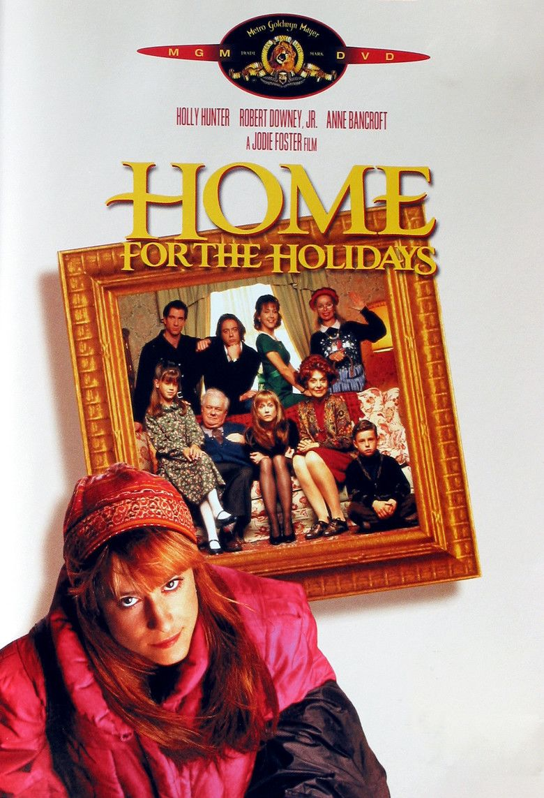 Home for the Holidays (film) movie poster