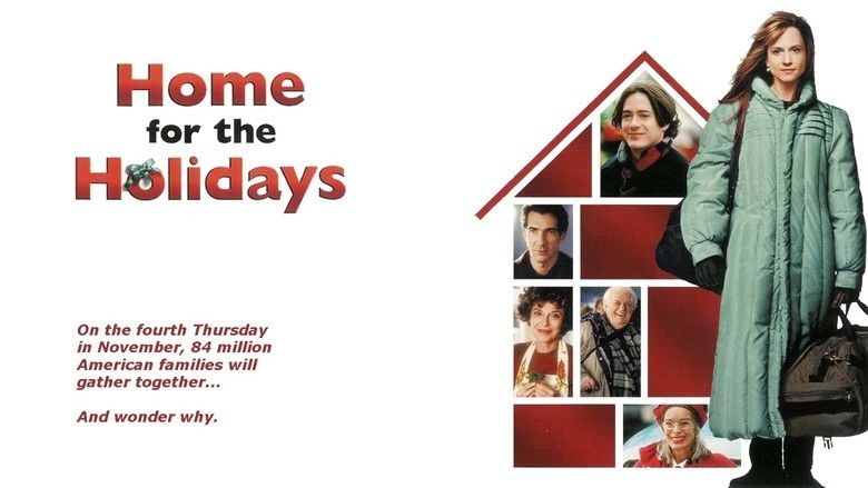 Home for the Holidays (film) movie scenes