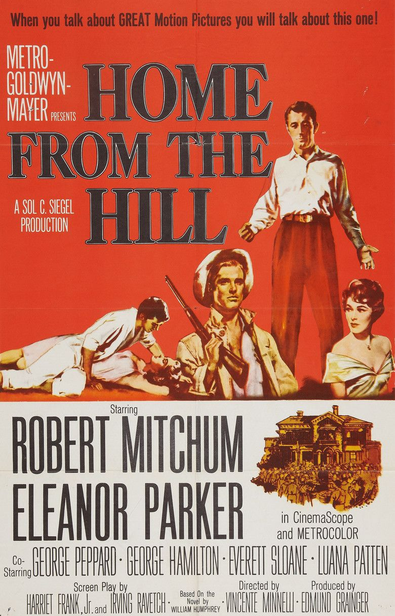 Home from the Hill (film) movie poster