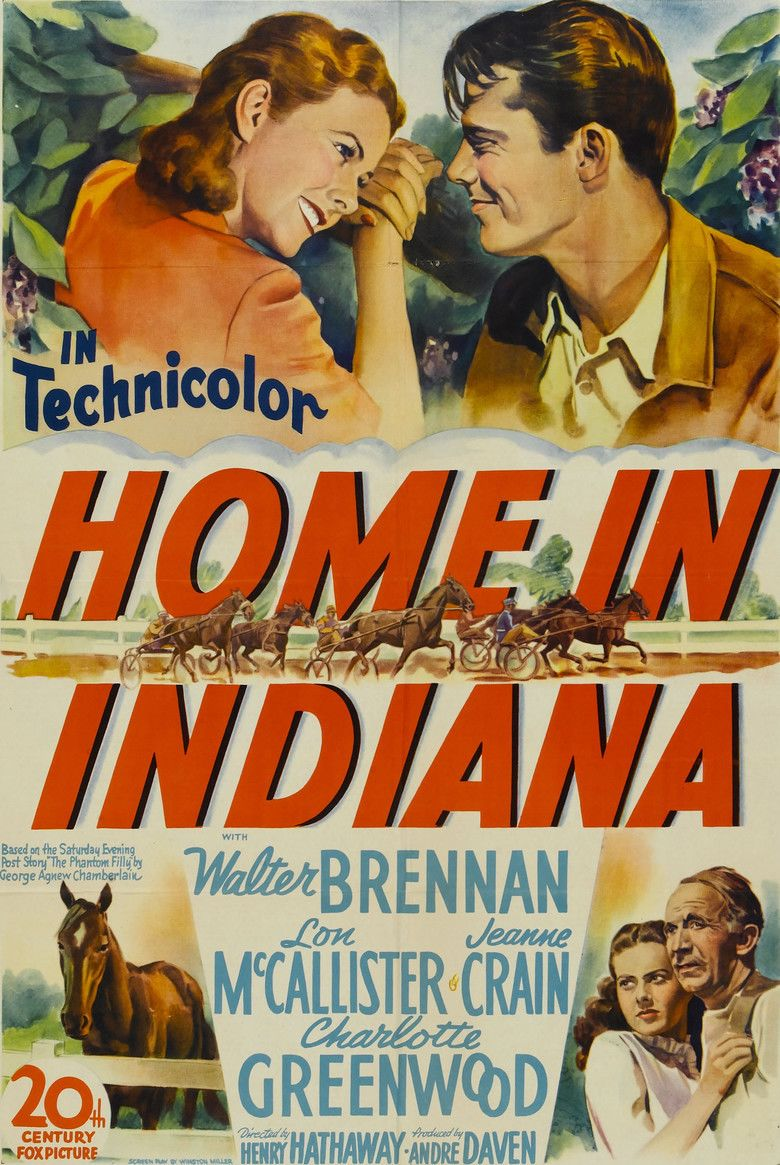 Home in Indiana movie poster