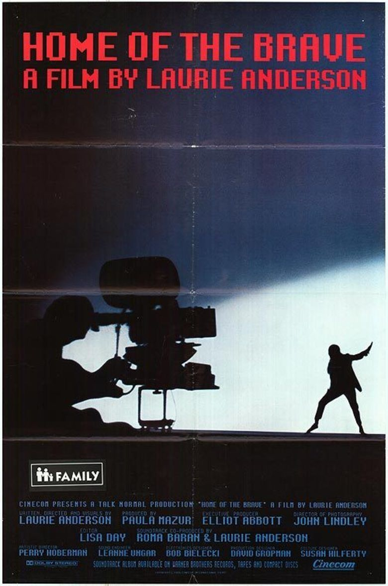 Home of the Brave (1986 film) movie poster