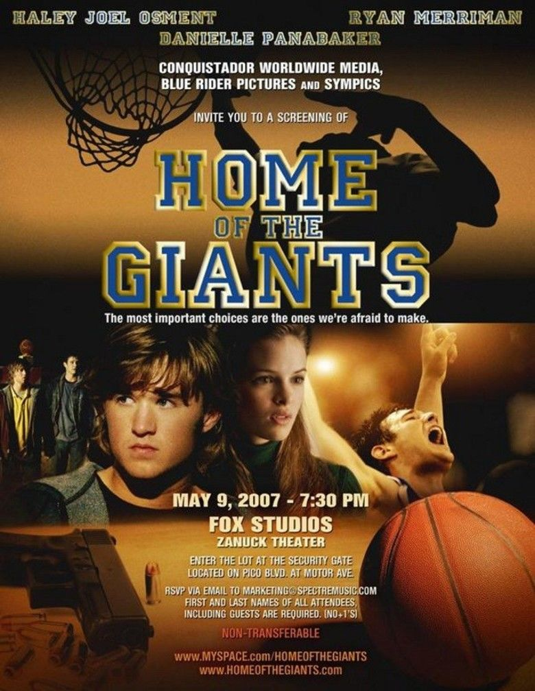 Home of the Giants movie poster