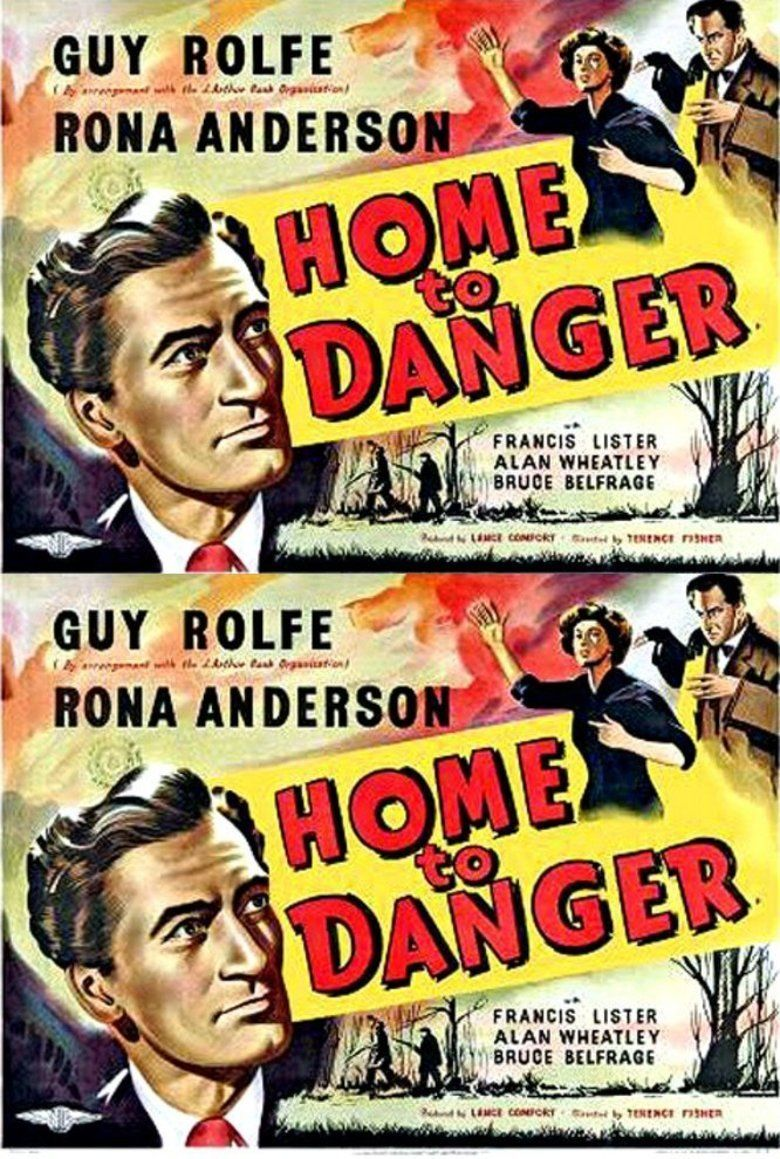 Home to Danger movie poster