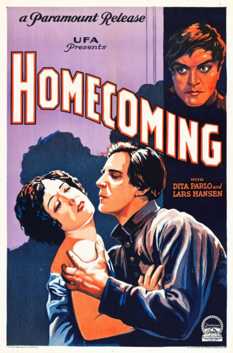 Homecoming (1928 film) movie poster