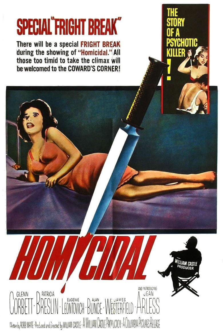 Homicidal movie poster
