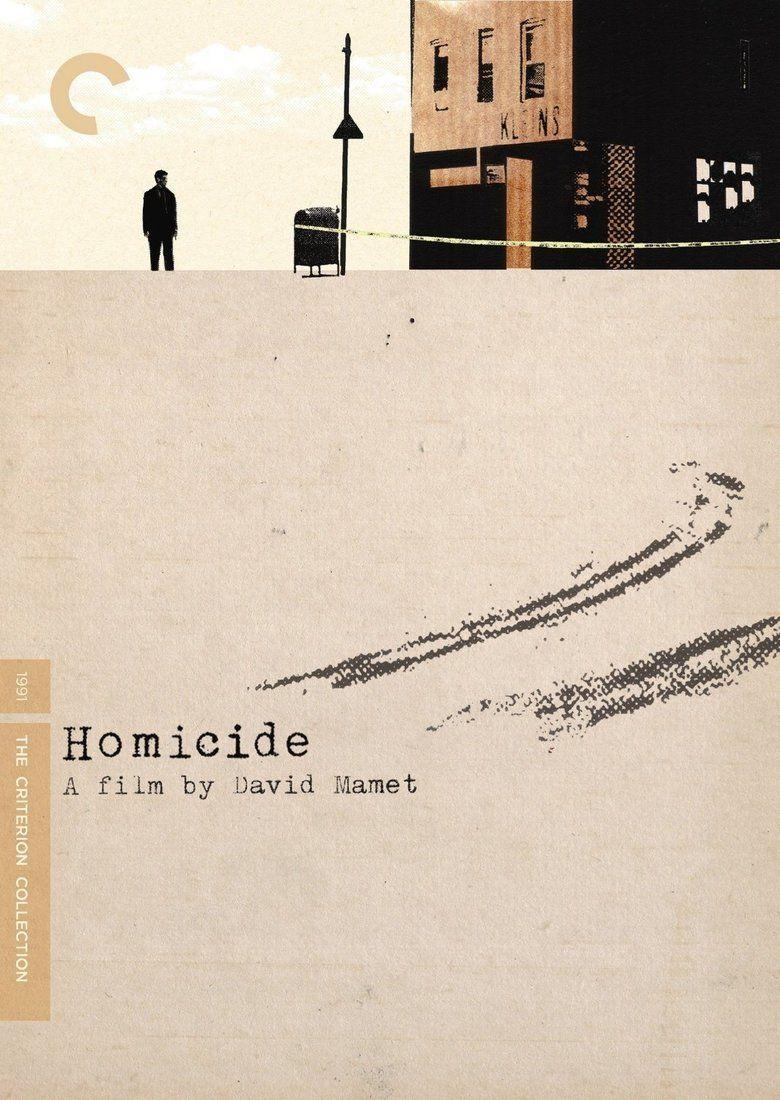 Homicide (1991 film) movie poster