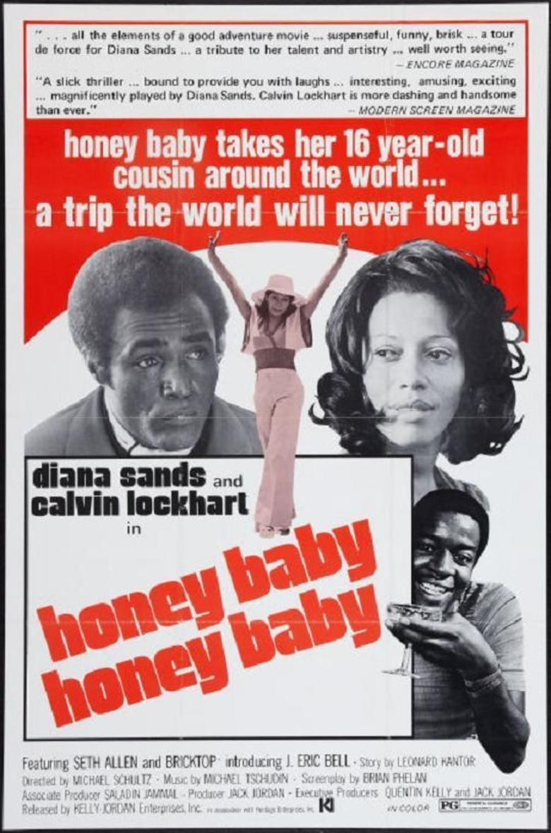 Honeybaby, Honeybaby movie poster