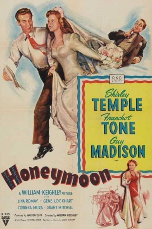 Honeymoon (1947 film) movie poster