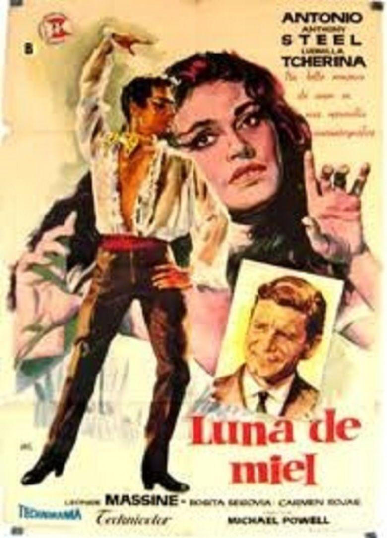 Honeymoon (1959 film) movie poster