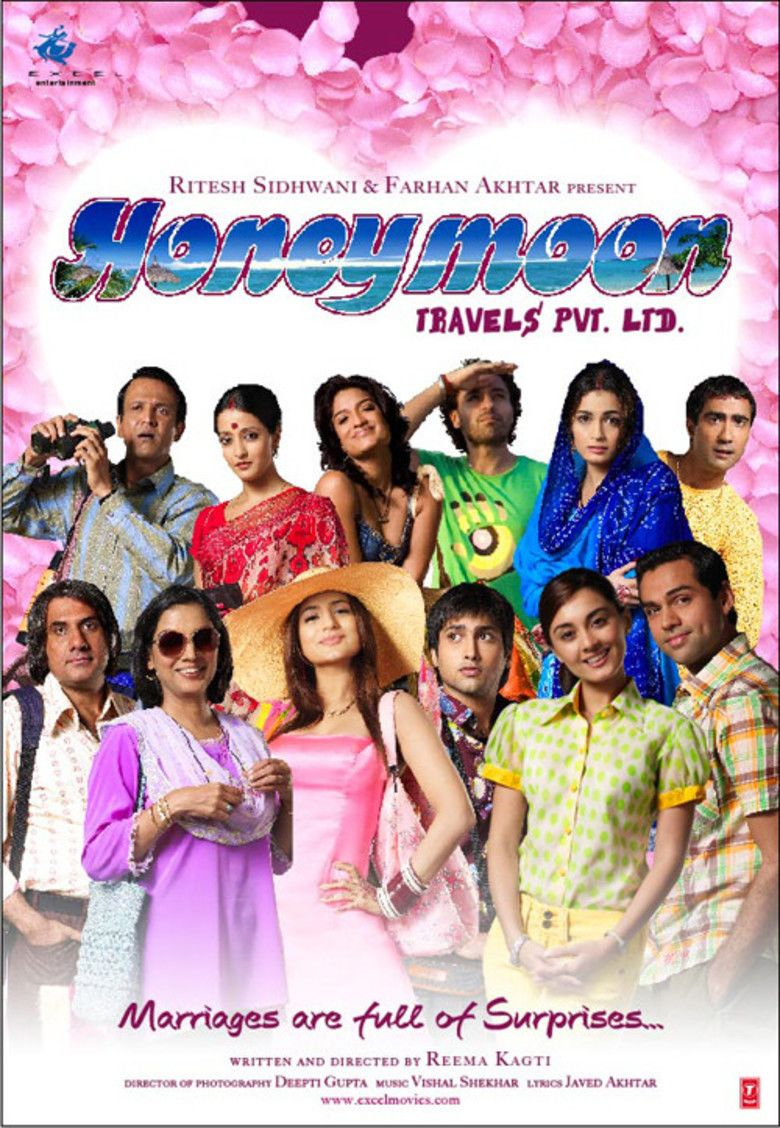 Honeymoon Travels Pvt Ltd movie poster