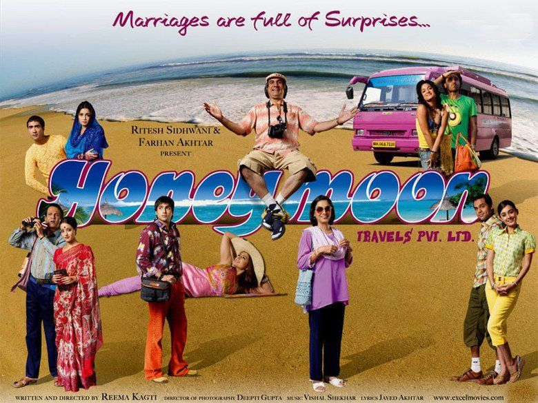 Honeymoon Travels Pvt Ltd movie scenes
