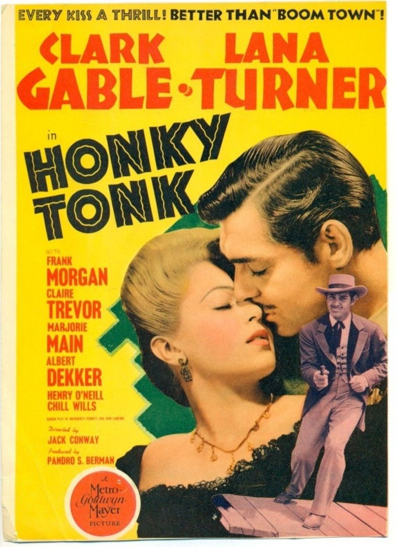 Honky Tonk (1941 film) movie poster