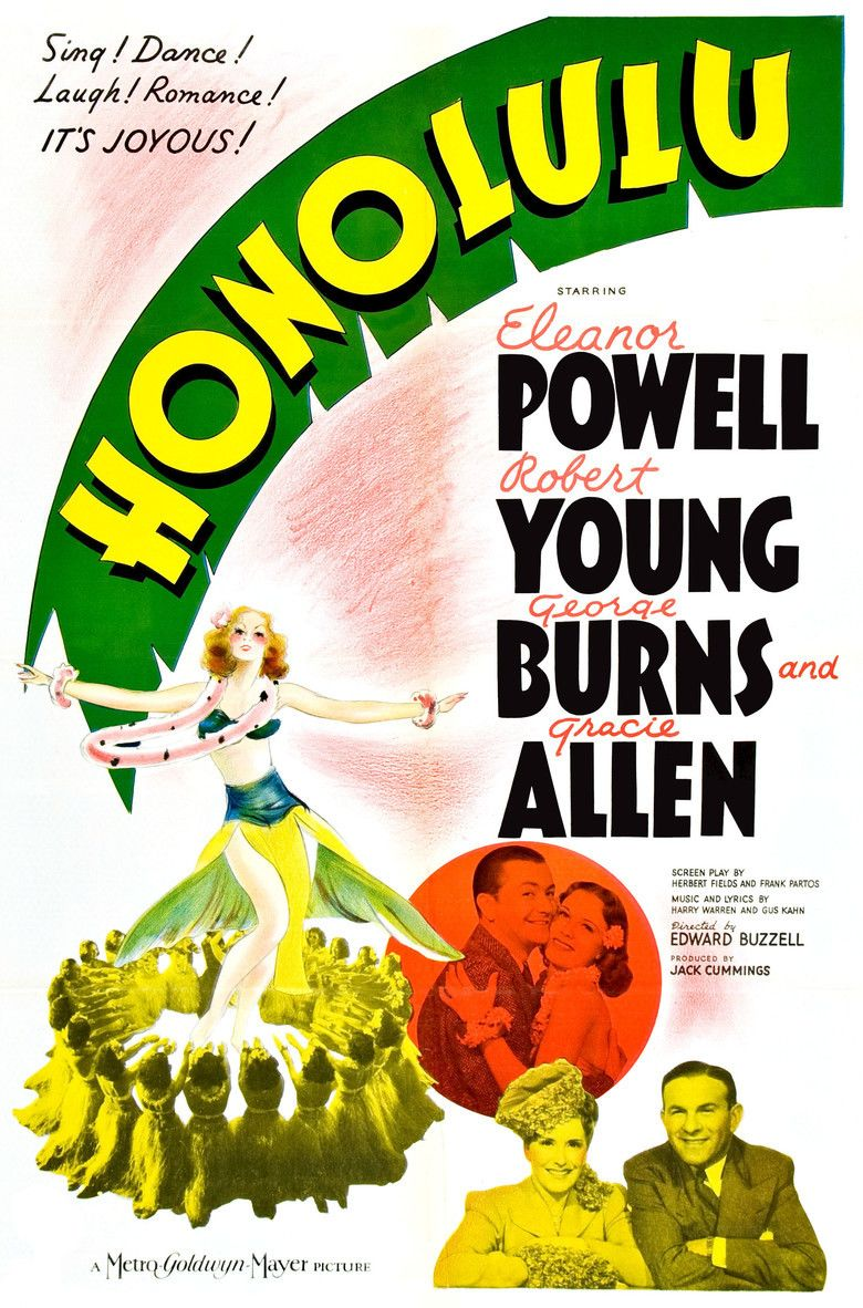 Honolulu (film) movie poster