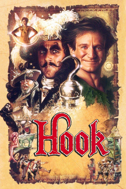 Hook (film) movie poster
