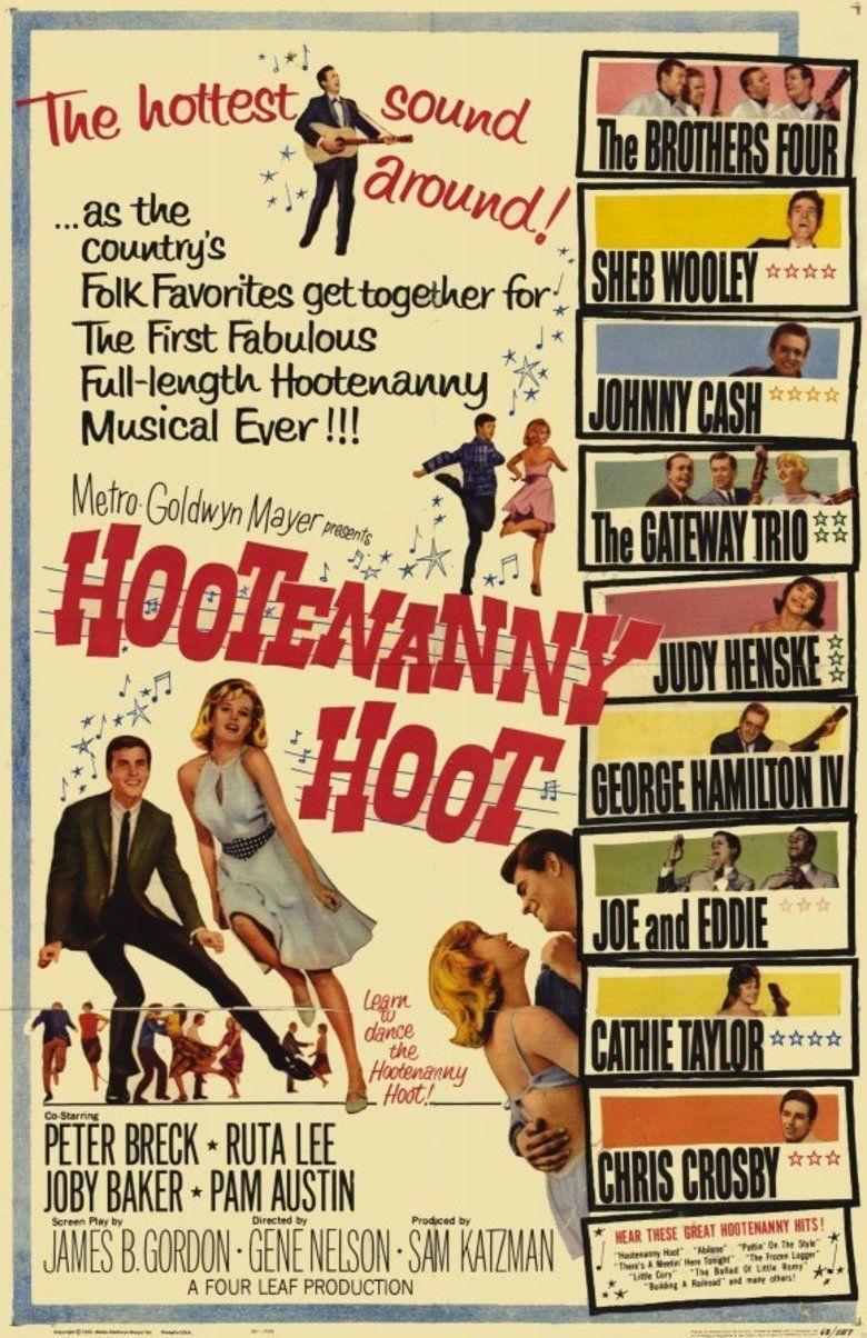 Hootenanny Hoot movie poster