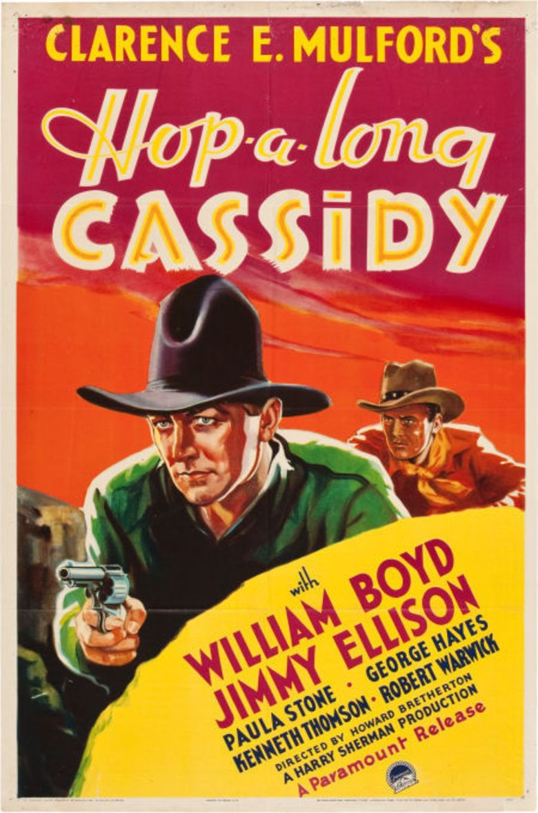 Hop Along Cassidy movie poster