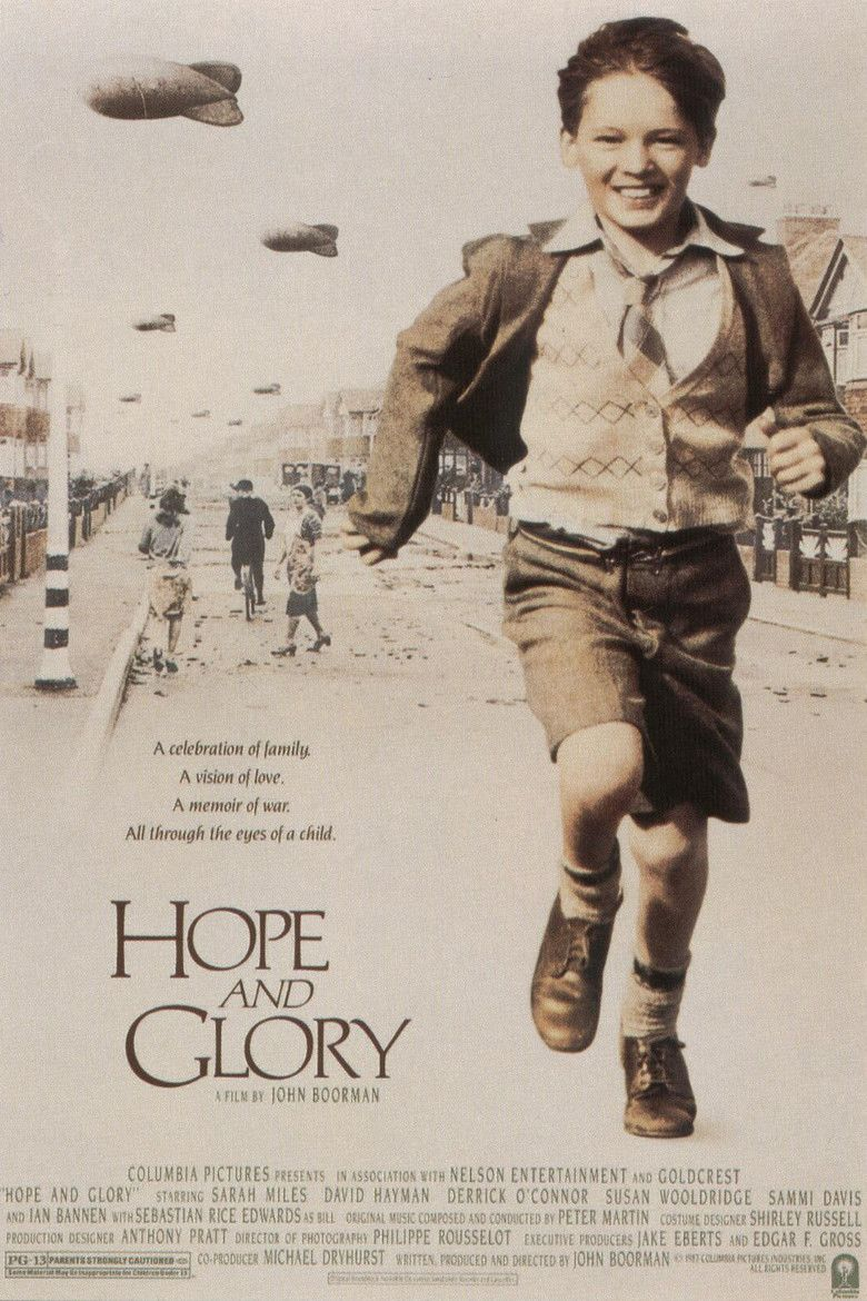 Hope and Glory (film) movie poster