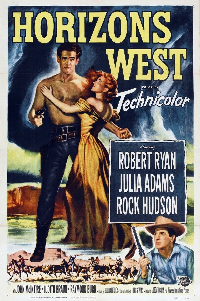 Horizons West movie poster