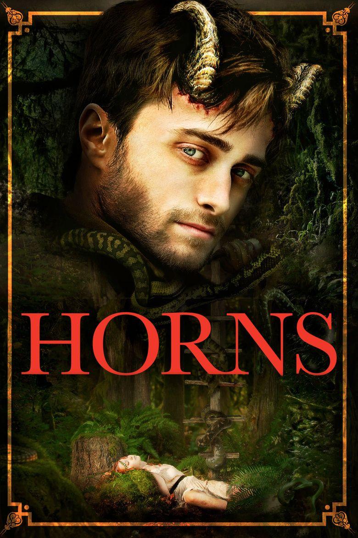 Horns (film) movie poster