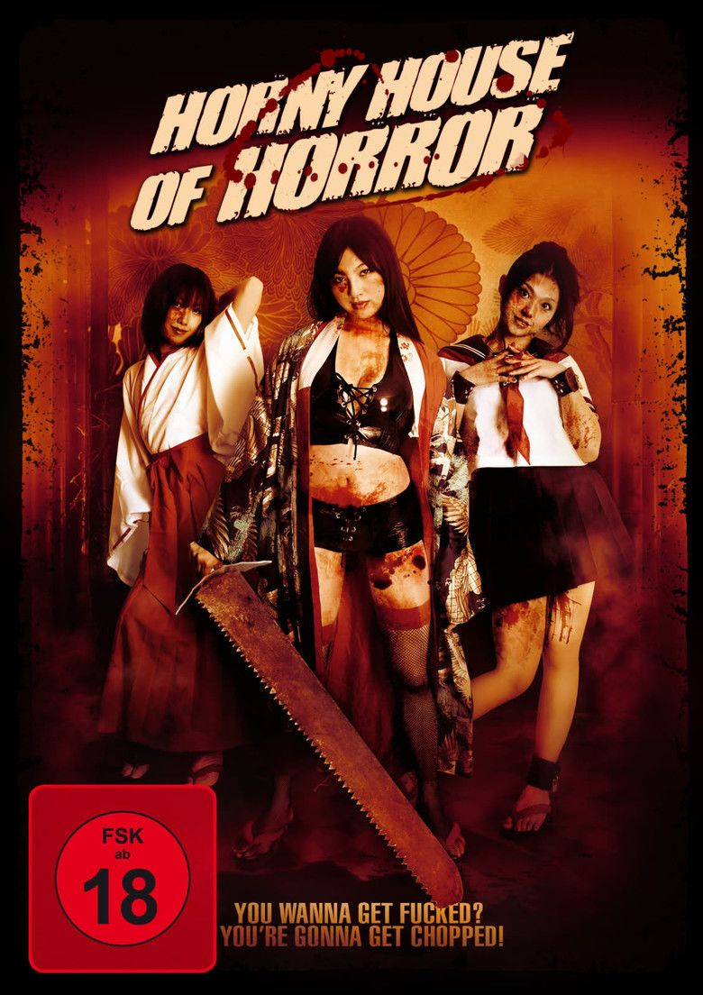 Horny House of Horror movie poster