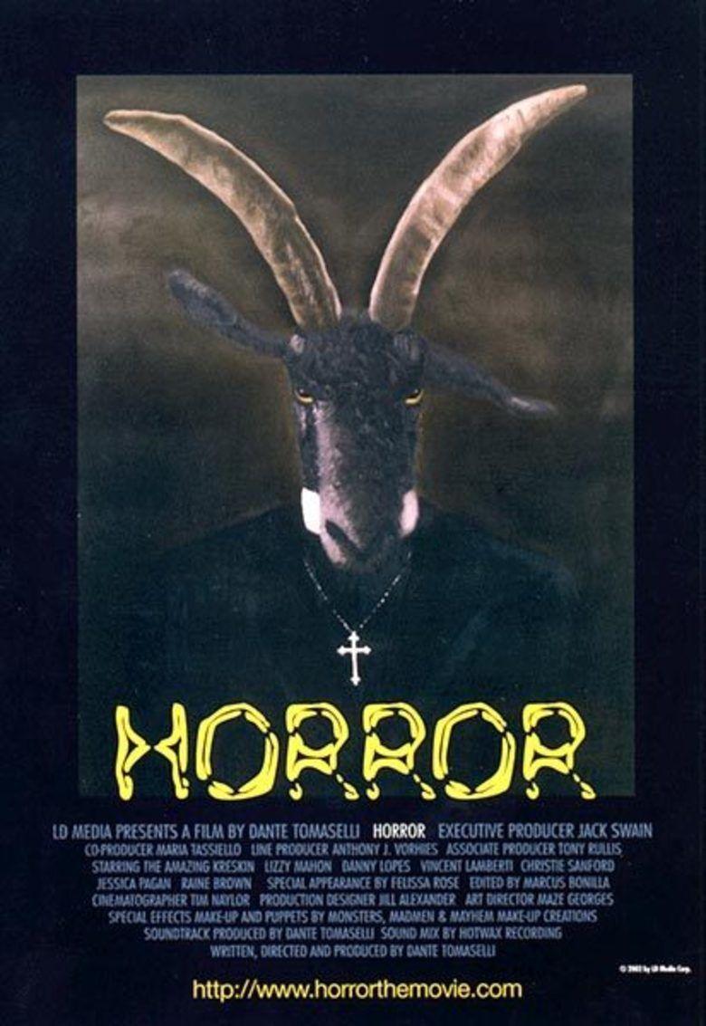 Horror (film) movie poster