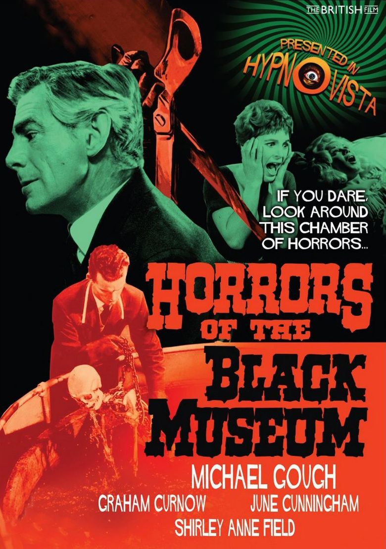 Horrors of the Black Museum movie poster