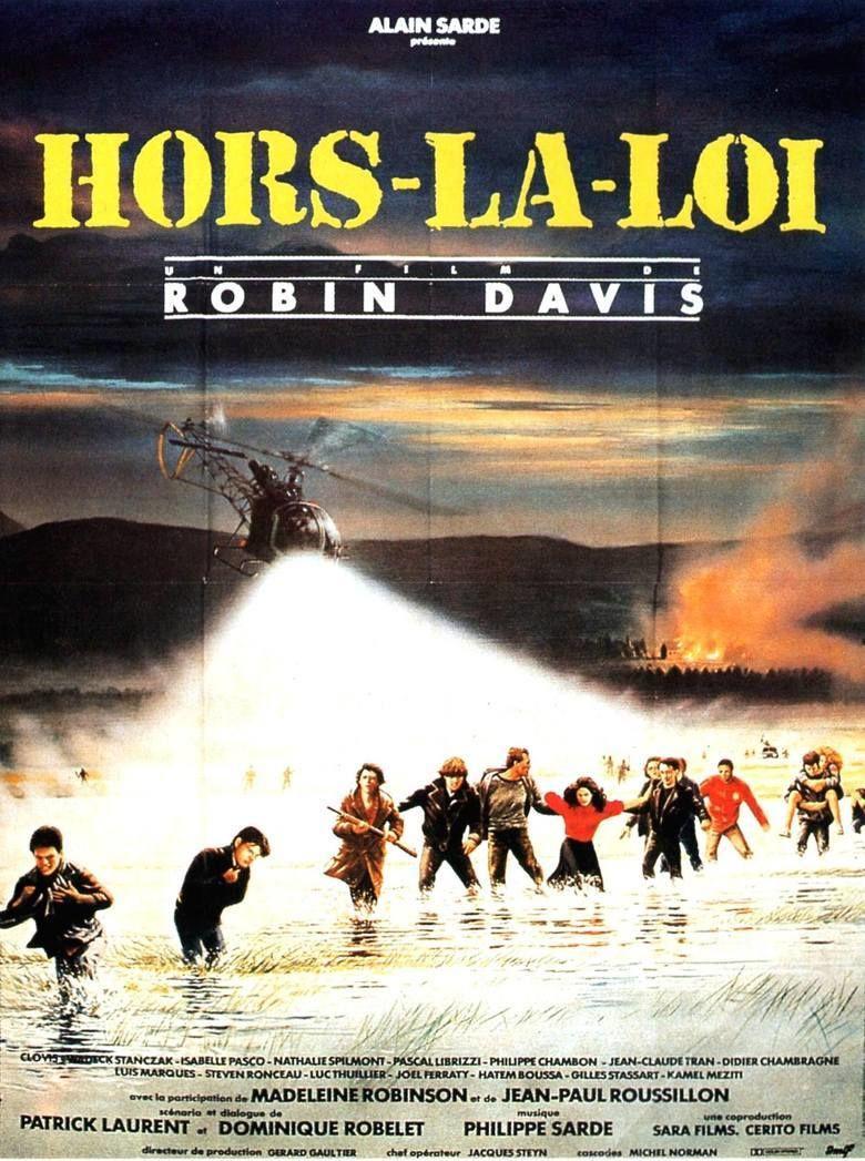 Hors la loi (1985 film) movie poster