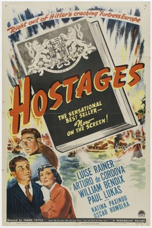 Hostages (film) movie poster