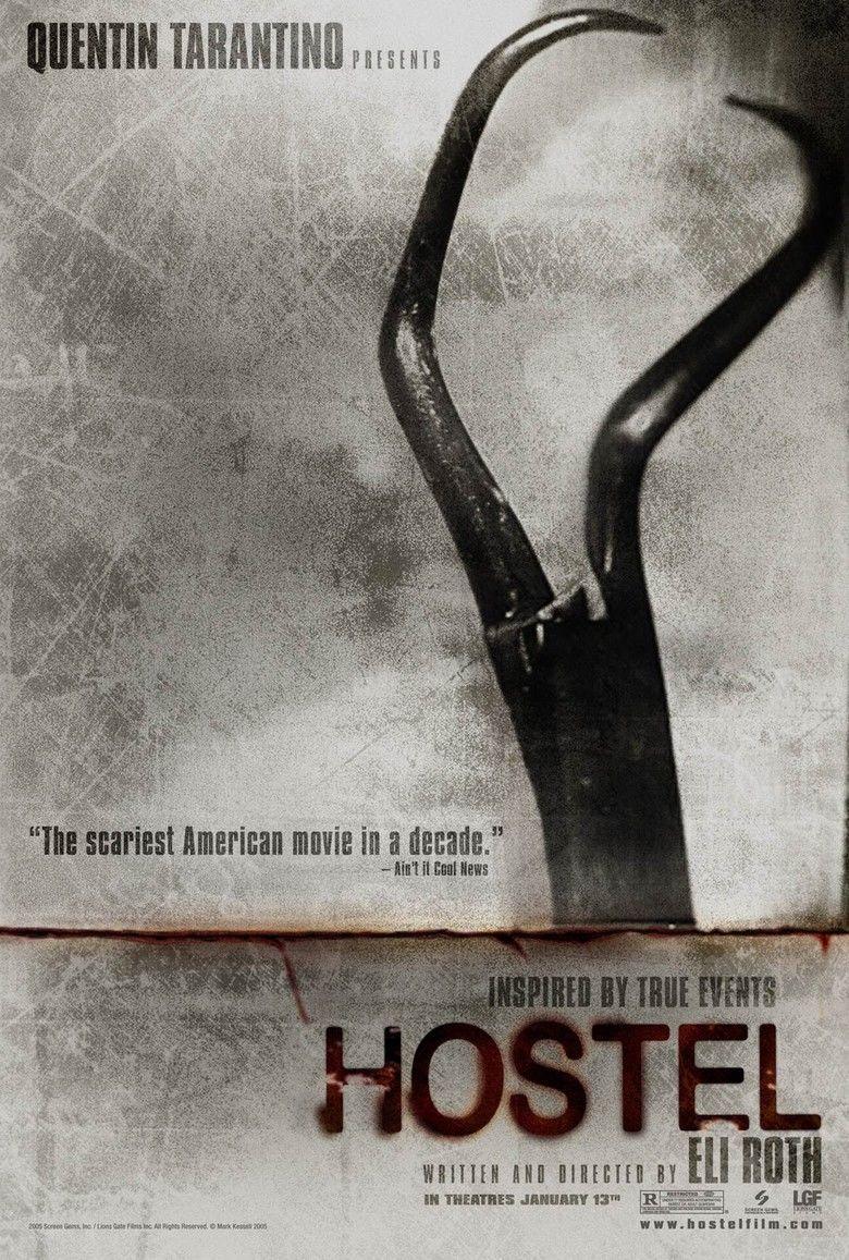 Hostel (2005 film) movie poster