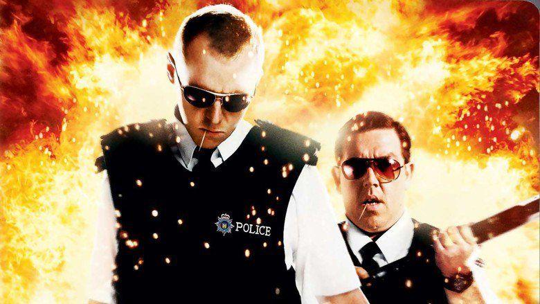 Hot Fuzz movie scenes