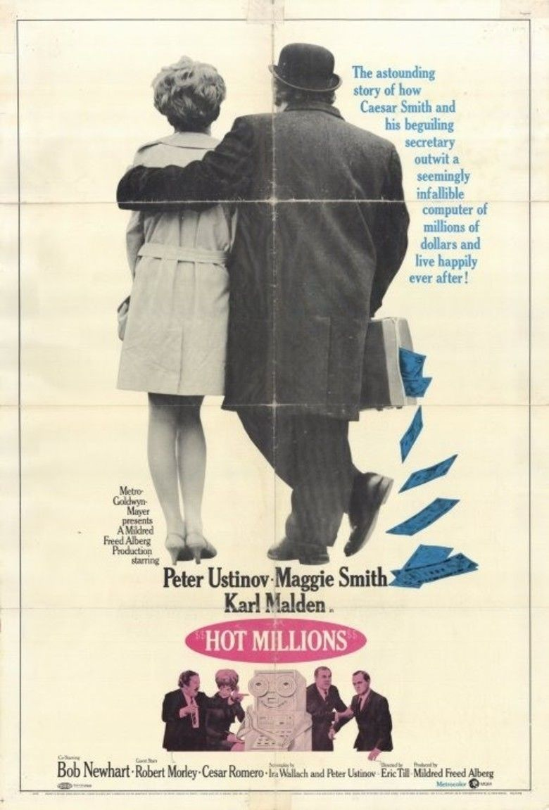 Hot Millions movie poster