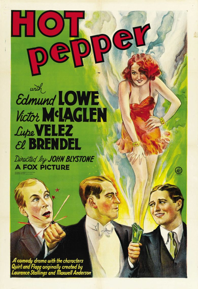 Hot Pepper (1933 film) movie poster