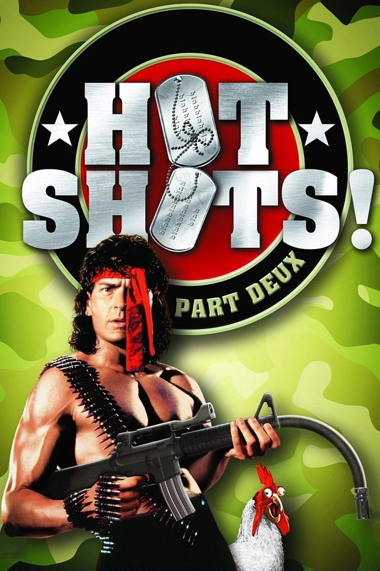 Hot Shots! Part Deux movie poster
