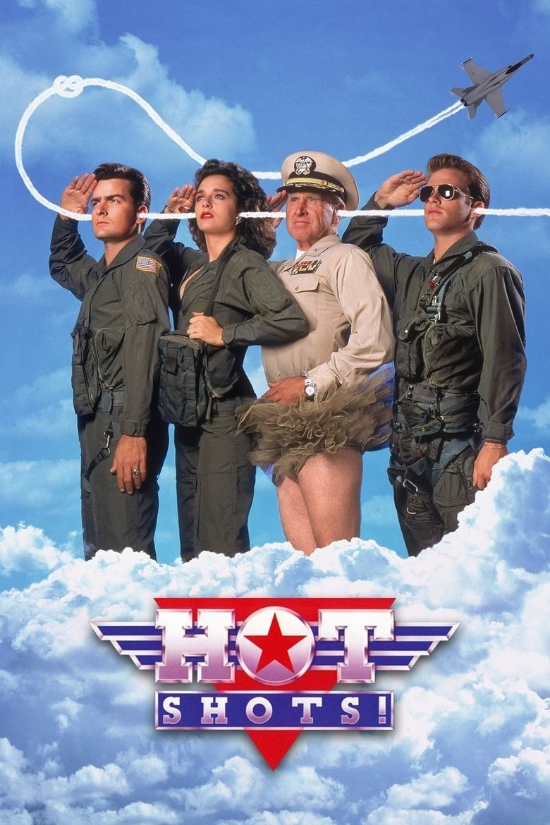 Hot Shots! movie poster
