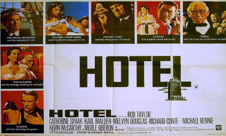 Hotel (1967 film) movie scenes