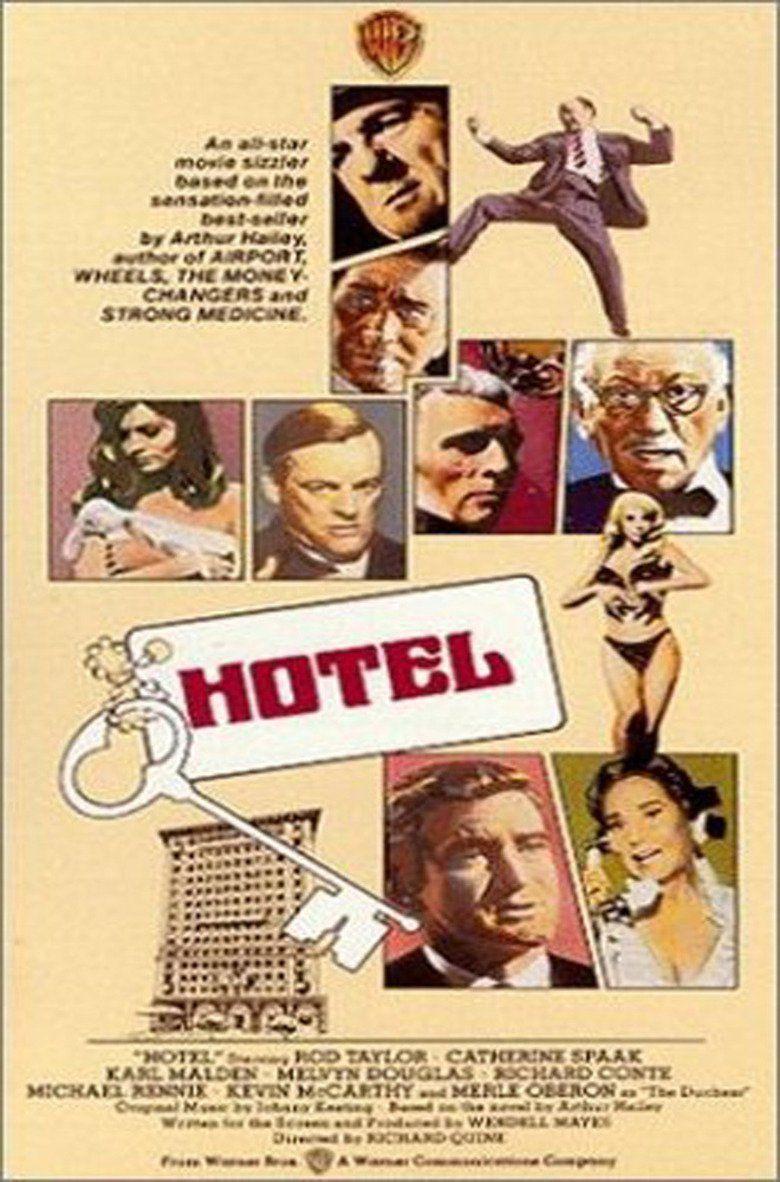 Hotel (1967 film) movie poster
