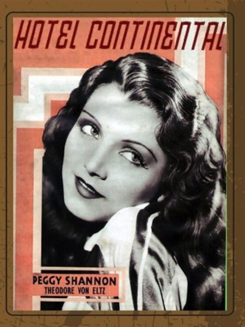 Hotel Continental (film) movie poster