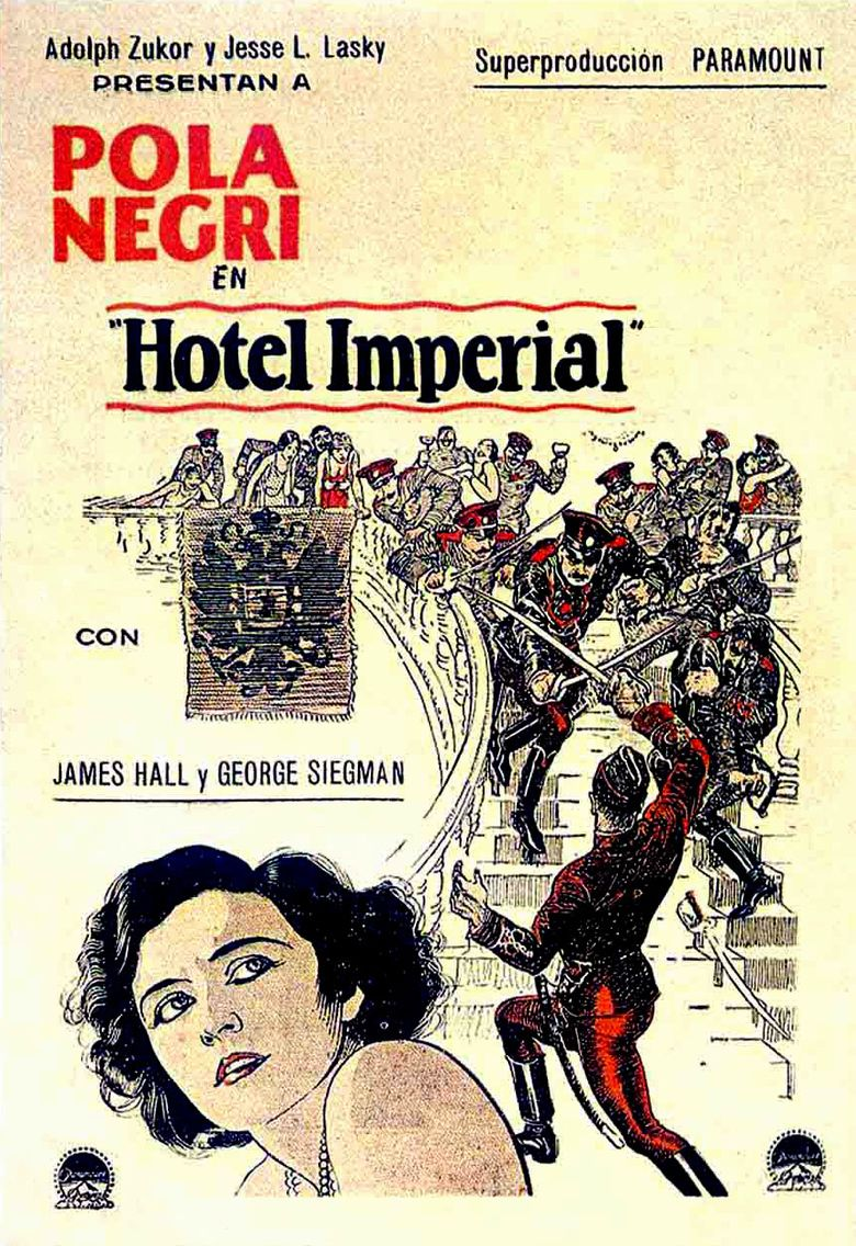 Hotel Imperial (1927 film) movie poster
