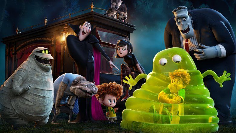 Hotel Transylvania 2 movie scenes