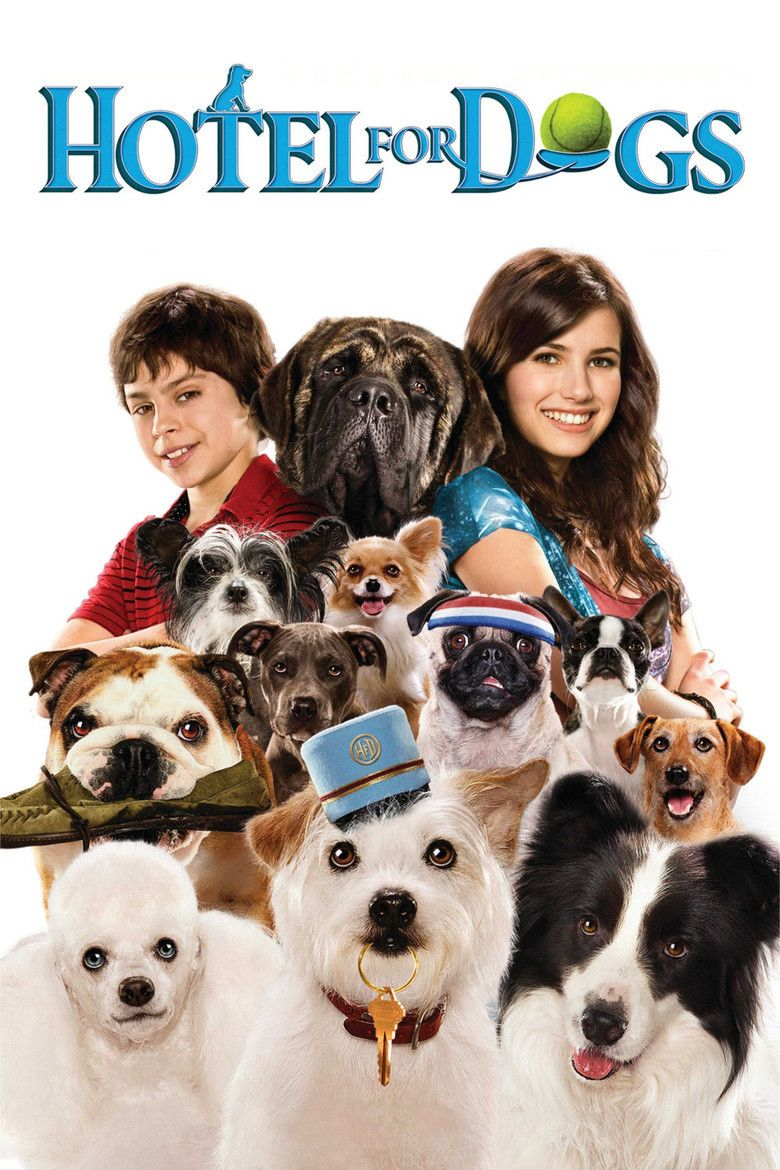 Hotel for Dogs (film) movie poster