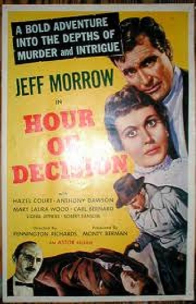 Hour of Decision (film) movie poster