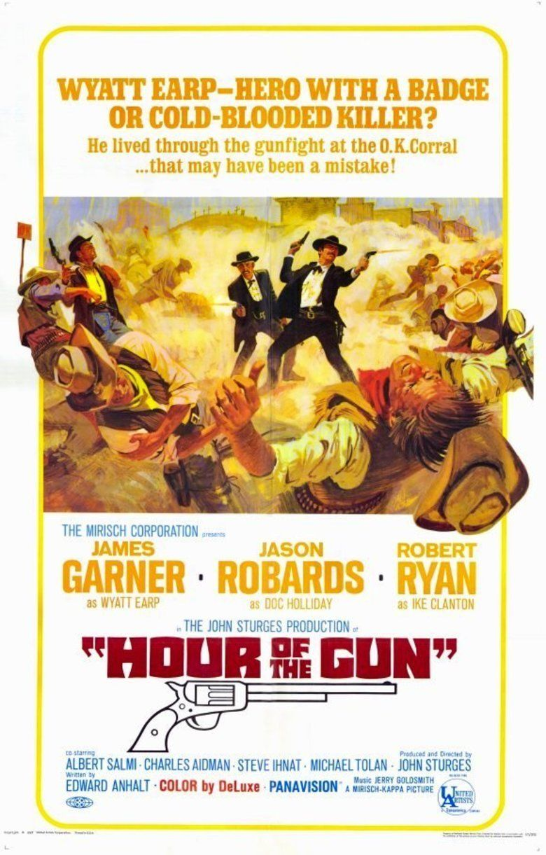 Hour of the Gun movie poster