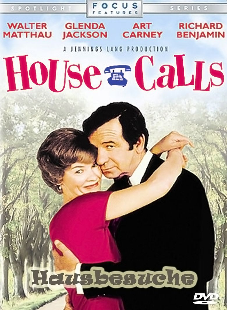 House Calls (1978 film) movie poster