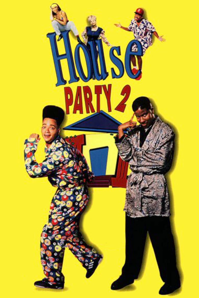 House Party 2 movie poster