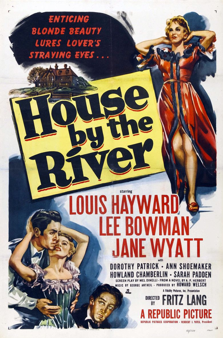 House by the River movie poster