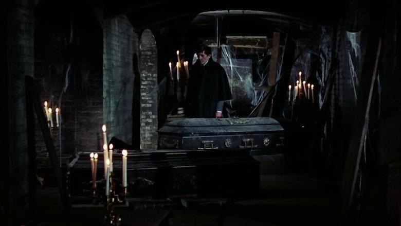 House of Dark Shadows movie scenes