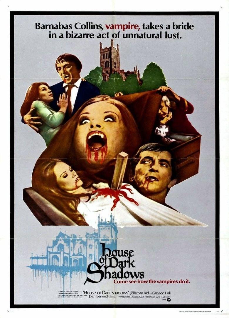 House of Dark Shadows movie poster